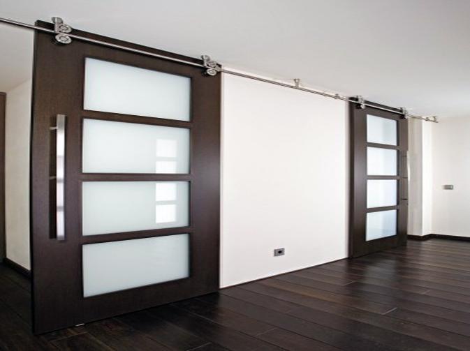 Glassteel sistemas vidriados for Puertas blancas con vidrio